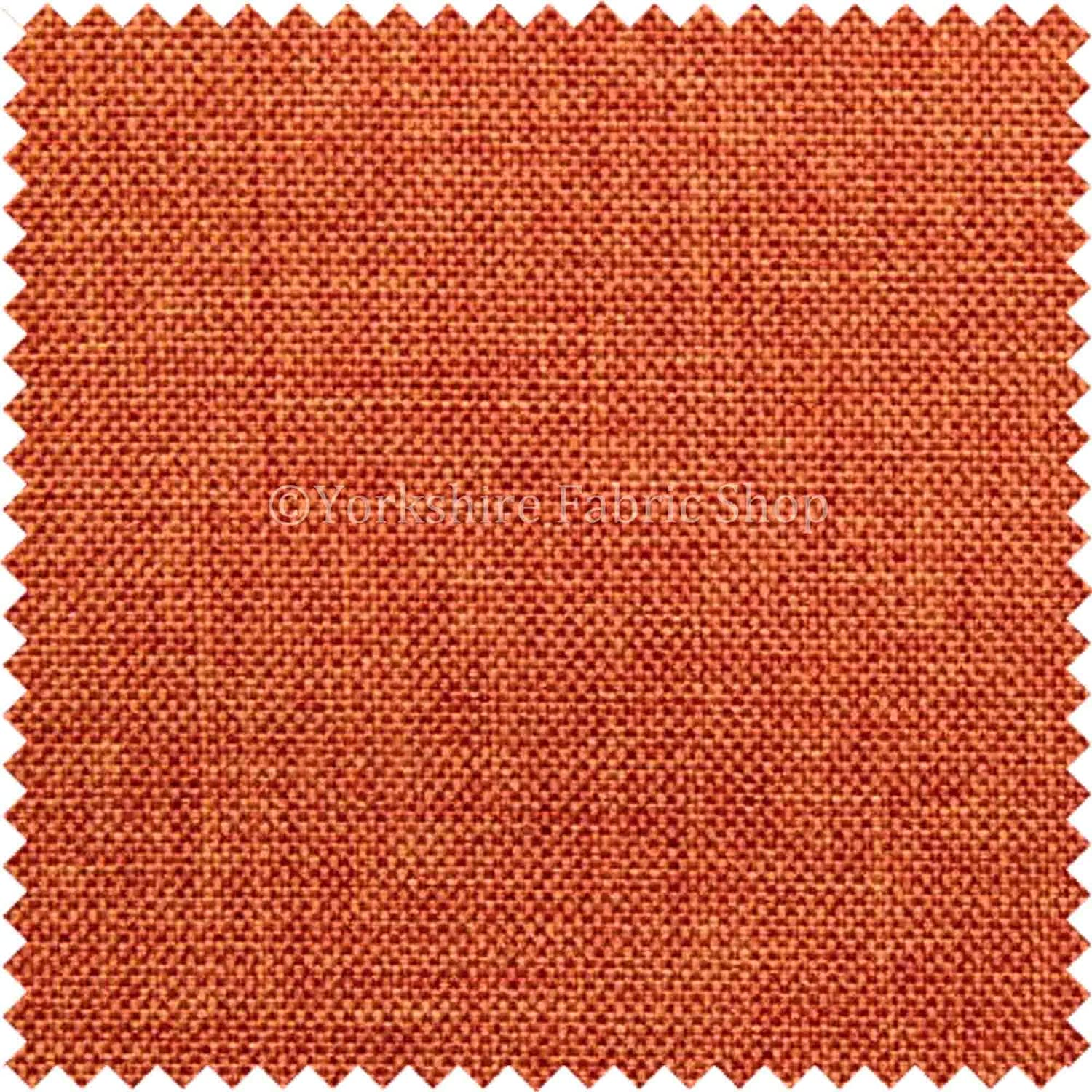 Light Weight Durable Chenille Red Terracotta Drapery Curtain Upholstery Fabrics