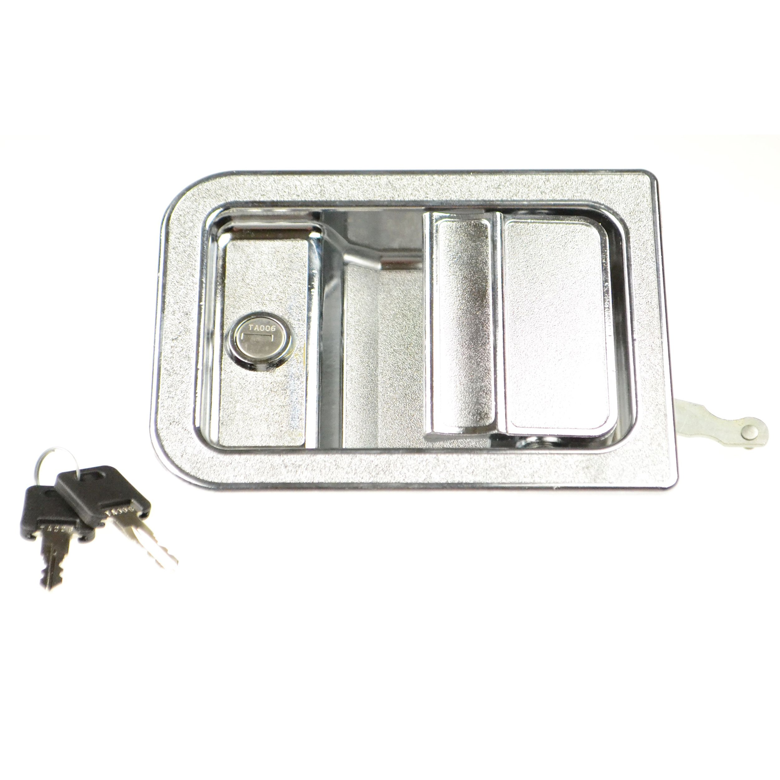 Tri-Mark 045017-05-000 Entrance Door Latch - Silver by TRIMARK (Image #1)