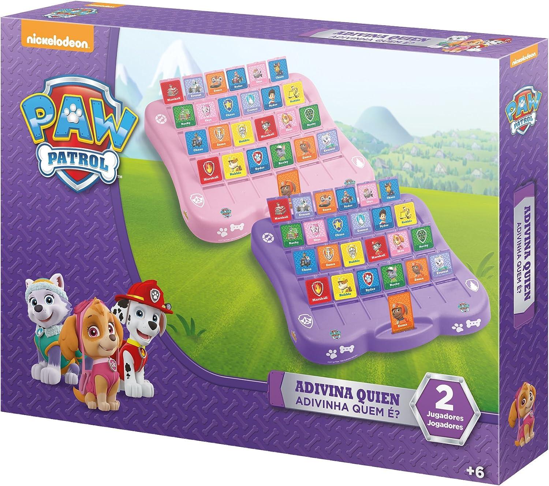 PAW PATROL Adivina Quién, Juego de Estrategia (Saica 2289): Amazon.es: Juguetes y juegos