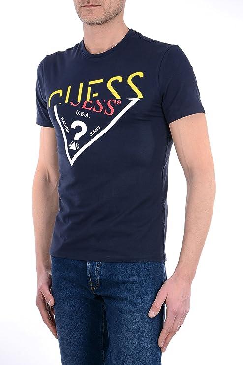 GUESS M82I17 J1300 Intruder Tee Camiseta Hombre: Amazon.es: Ropa y accesorios
