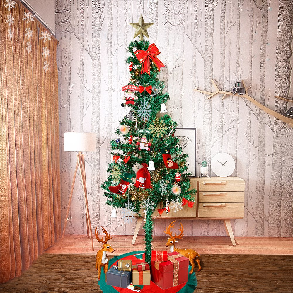 Uten Weihnachtsschmuck Weihnachtsbaum Rock Schürzen Weihnachtsbaum Bodendekoration (90Cm)