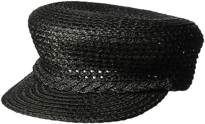 9fbe8c0f505 Eric Javits Luxury Women s Designer Headwear Hat - Capitan - Black ...
