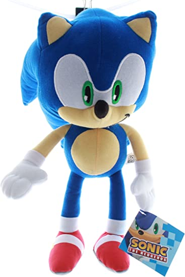 Amazon Com Sonic The Hedgehog Plush Toy Kids Boys Girls 13 Toys Games
