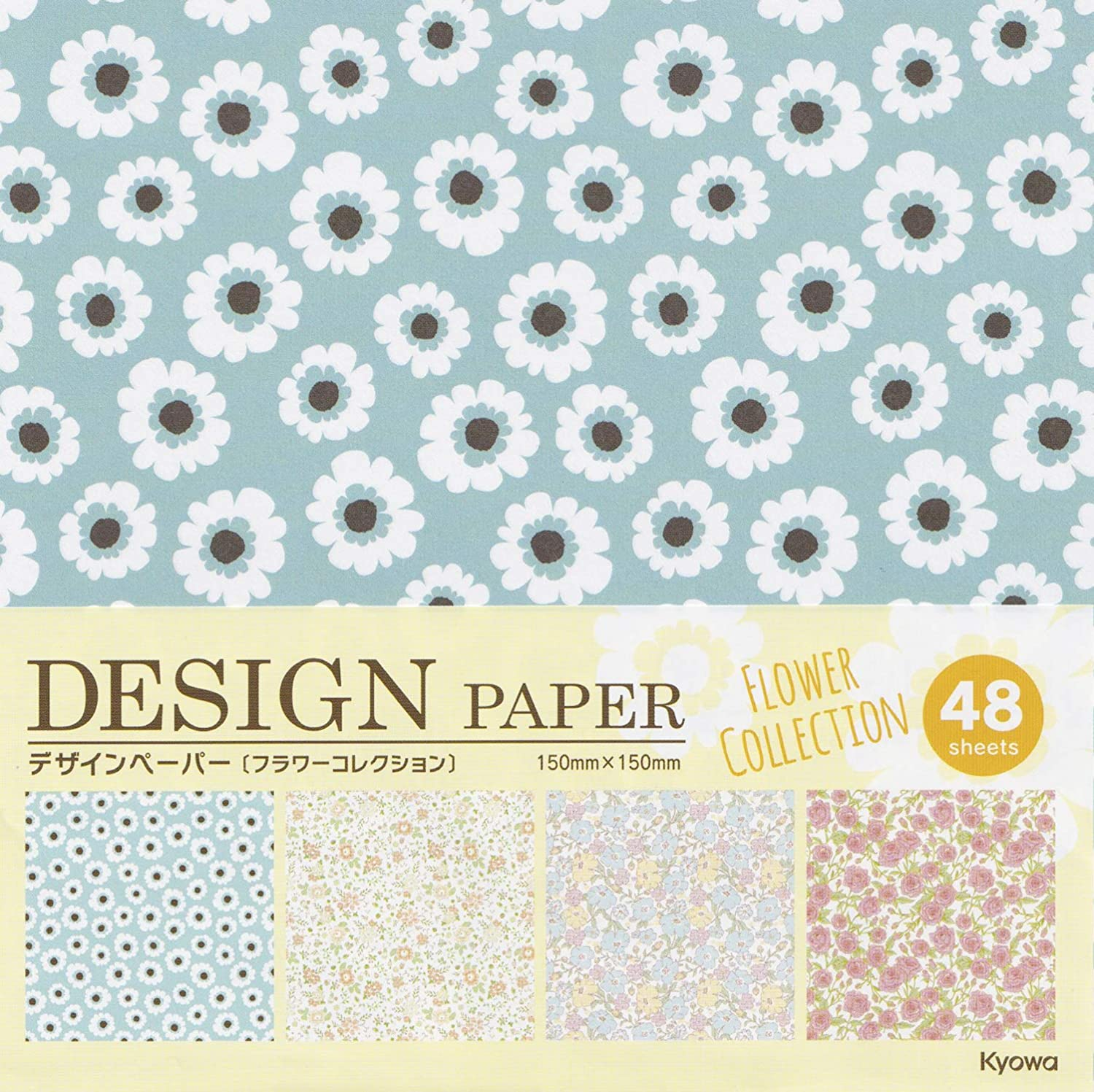 Arts and Crafts Projects Sparkling and Shining Origami Paper 6 inches Square Made in Japan Premium Quality for Kids /& Adults