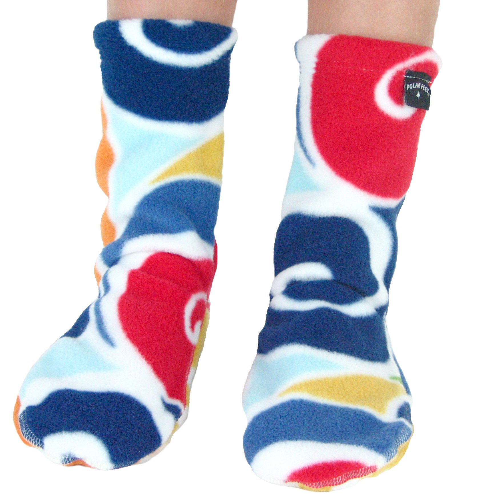Polar Feet Kids' Socks Nonskid Curlz S