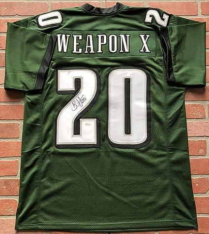 separation shoes 0aa97 0c573 Brian Dawkins autographed signed jersey NFL Philadelphia ...