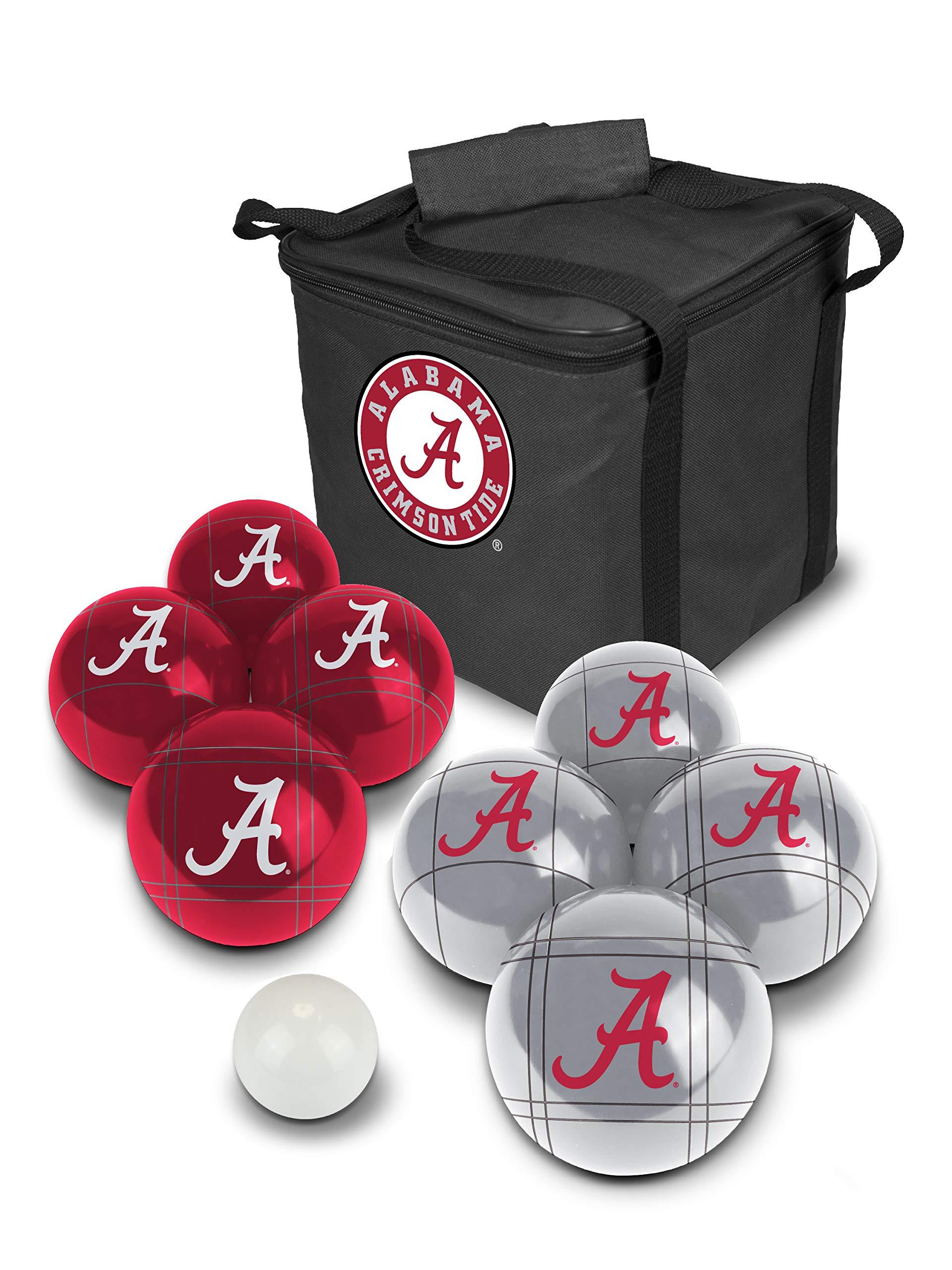 PROLINE NCAA College Alabama Crimson Tide Bocce Ball Set