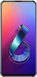 "ASUS ZenFone 6 (ZS630KL-S855-6G128G-SL) - 6.4"" FHD+ 2340x1080 All-Screen NanoEdge Display - 48MP Flip Camera – 6GB RAM - 128GB Storage - LTE Unlocked Dual SIM Cell Phone - US Warranty - Silver"