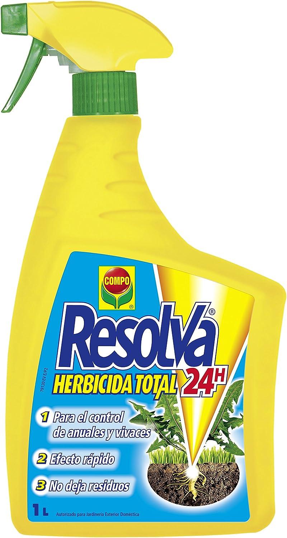 Compo Total Resolva 24h Herbicida, 18x10x4 cm: Amazon.es: Jardín