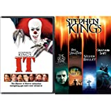 Stephen King Collection It + The Dead Zone, Pet Cemetery, Graveyard Shift, Silver Bullet, Movie Feature Master of Horror & Suspense Possession & Fear