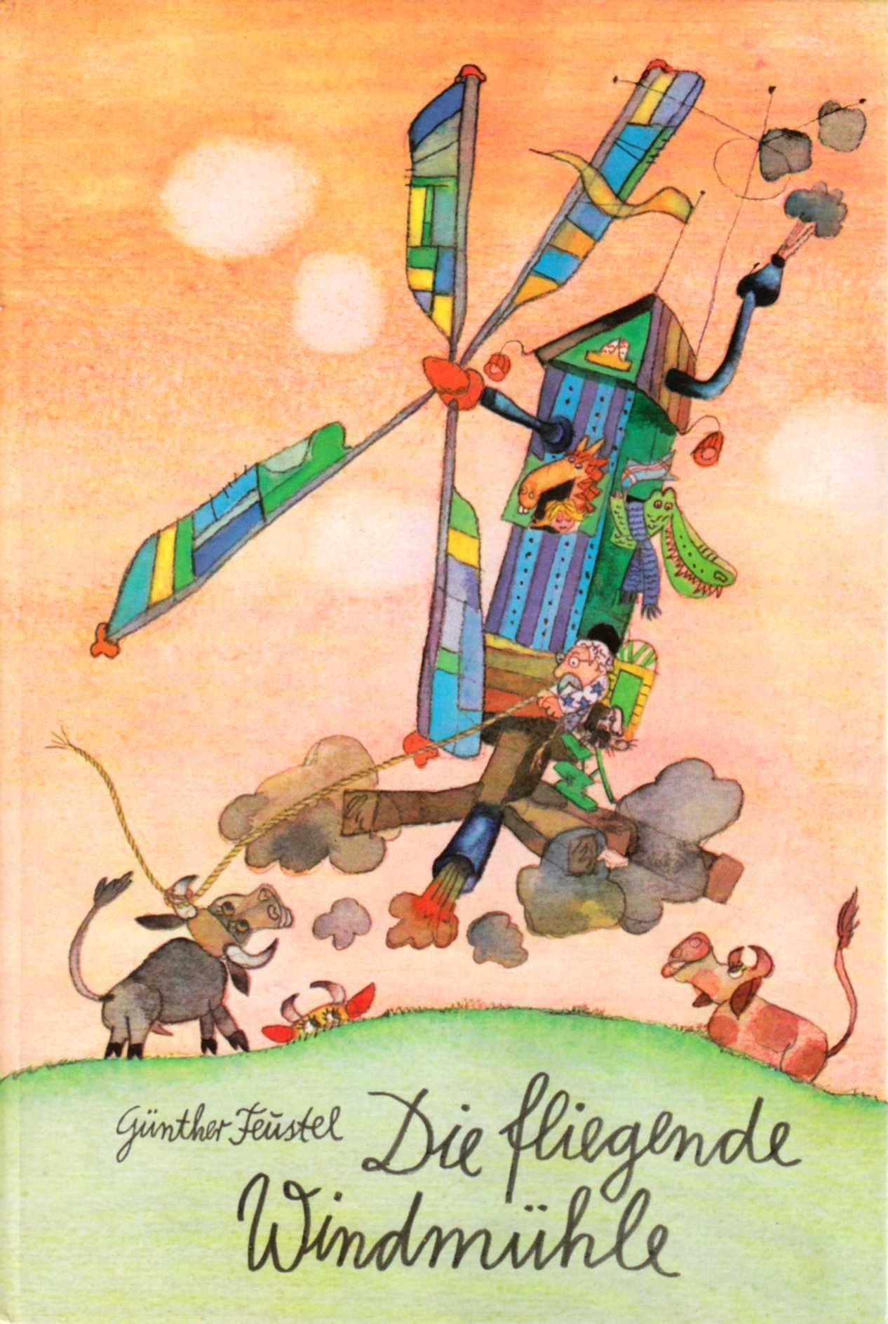 Die Fliegende Windmuhle Amazon De Gunther Feustel Bucher