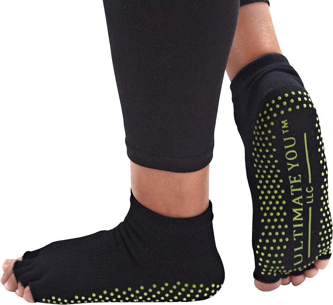 : Deluxe Yoga Socks for Women Non Slip Non Skid