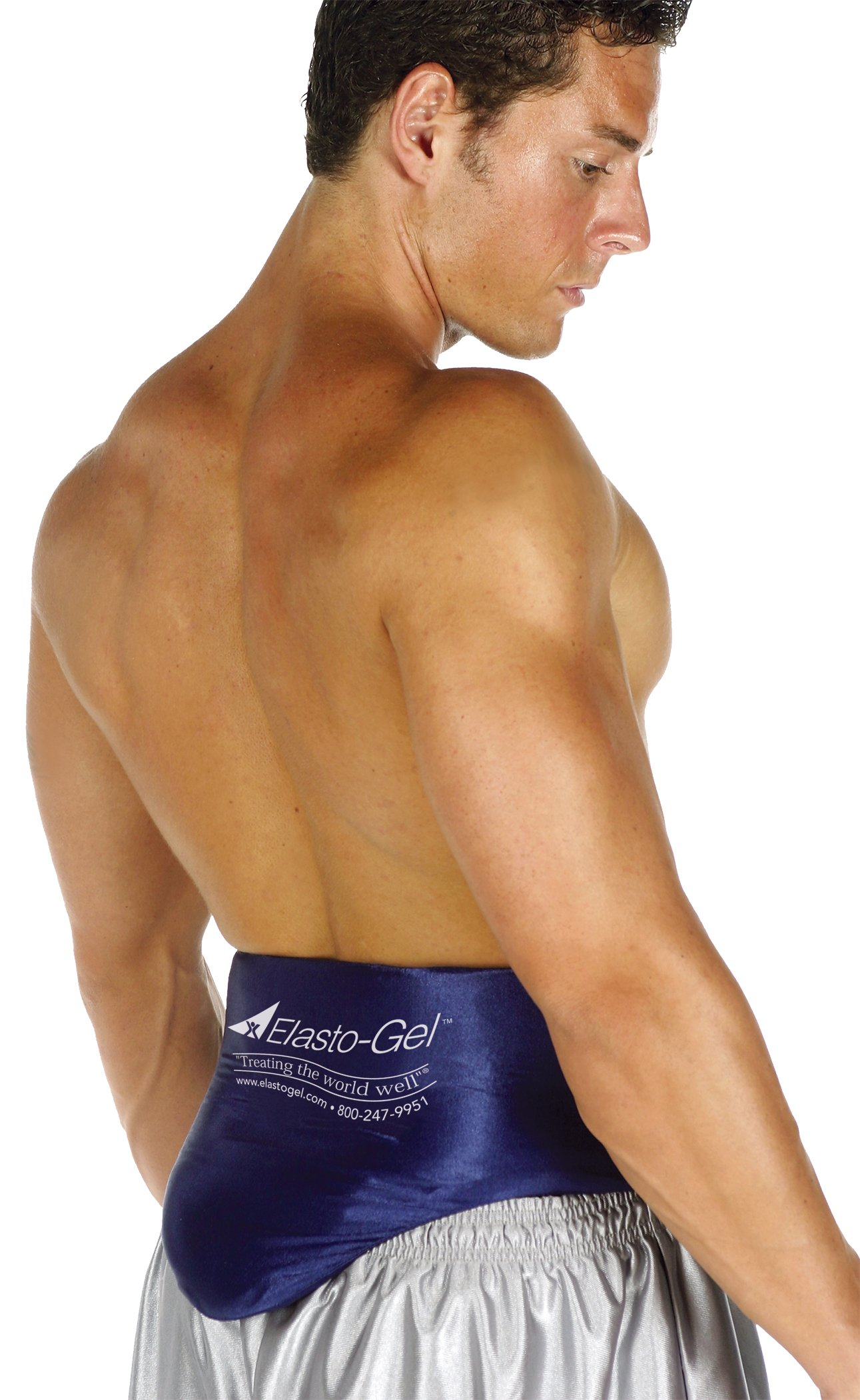 Elasto-Gel Lumbar Wrap L-3XL Waist 36''-52'' Gel 27'' Belt 4''x24'' LW203 by Elasto-Gel
