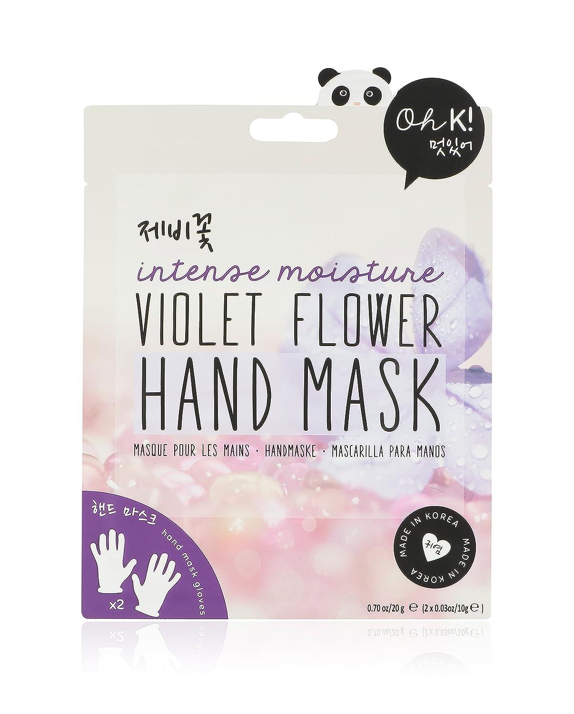 Oh K! Mascarilla para Manos con Flores de Violeta - 20 gr: Amazon.es: Belleza