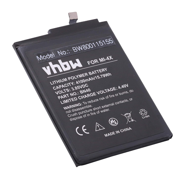 vhbw Litio polímero batería 4100mAh (3.85V) para móvil ...