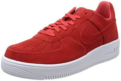 newest ef160 9cf4f Nike Air Force 1 Ultra Force Track RedTrack Red-White (8.5)