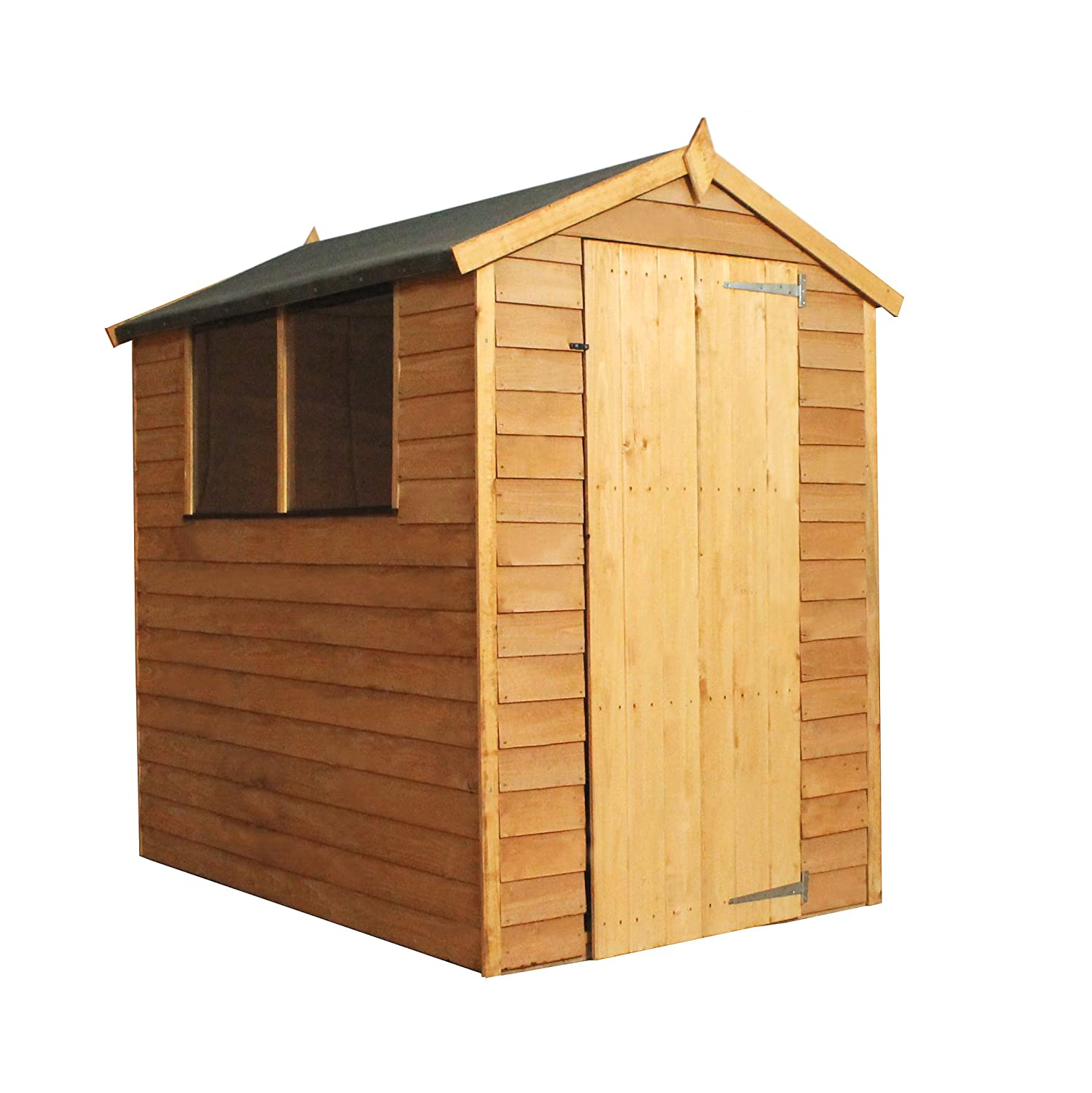 sheds a base garden with how youtube wickes wooden to onto shed watch build
