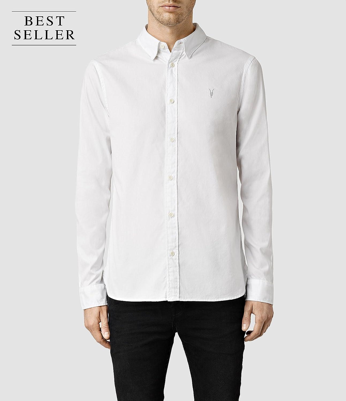 All Saints allsaints Redondo Hemd White: