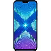 Huawei Honor 8X 64 GB + 4 GB RAM JSN-L23 6.5 Pulgadas HD LTE Smartphone Desbloqueado de fábrica – Versión Internacional, Azul