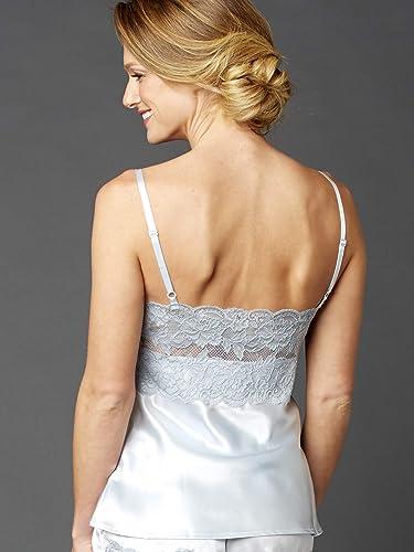 Amazon.com: Julianna Rae 100% Silk Camisole Top, Stretch ...