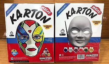 Maske Boyama Oyunu Hobi Ve Sanat Malzemeleri Amazoncomtr