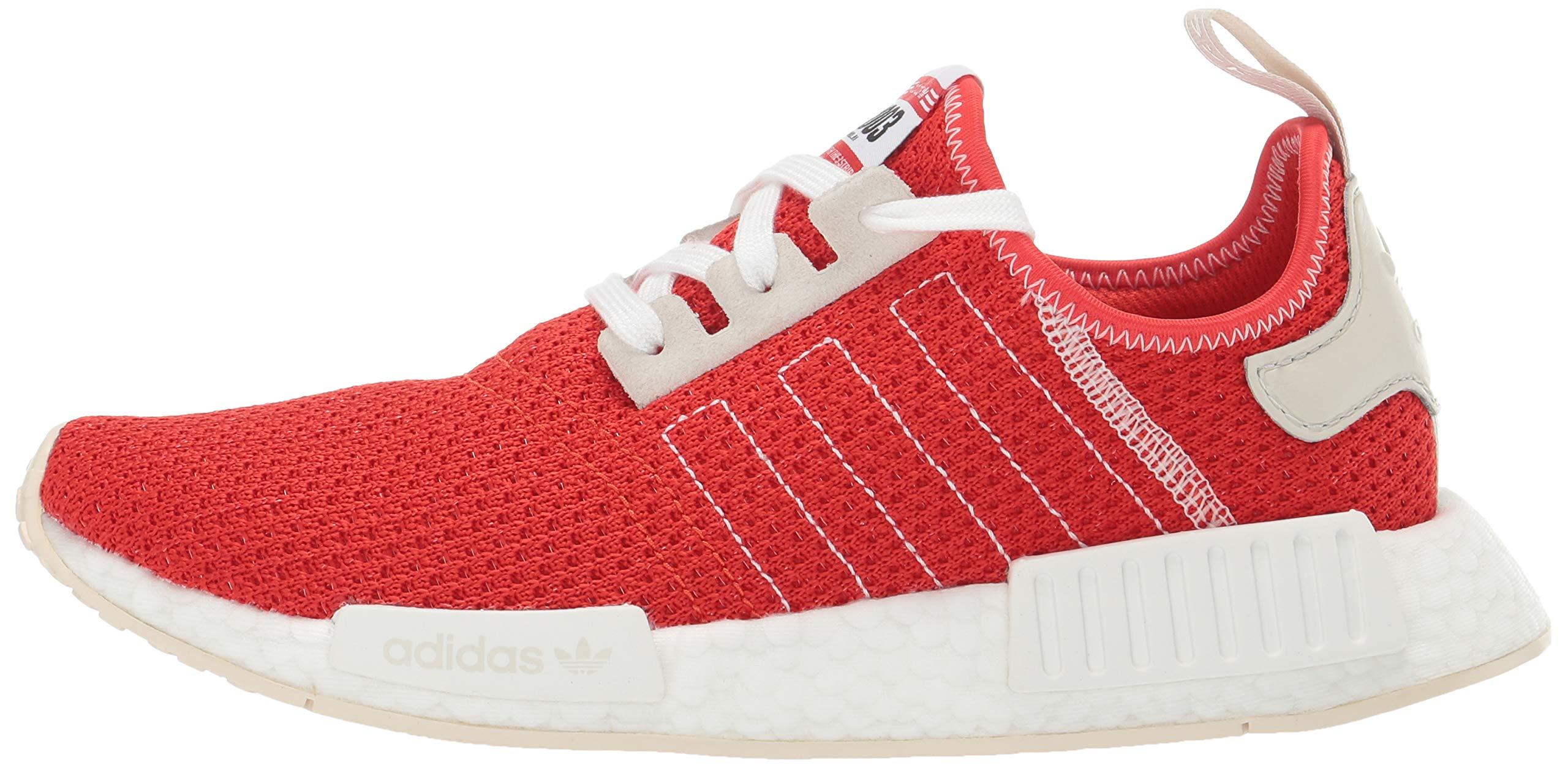 adidas Originals Men's NMD_R1 Running Shoe, Active red/Ecru Tint, 4 M US by adidas Originals (Image #5)