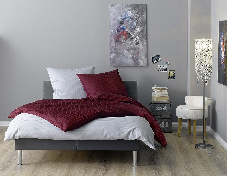 Lorena Textil Textil Textil Verona Mako-Satin Bettwäsche Baumwolle (apricot, 200 cm x 220 cm) deed8e