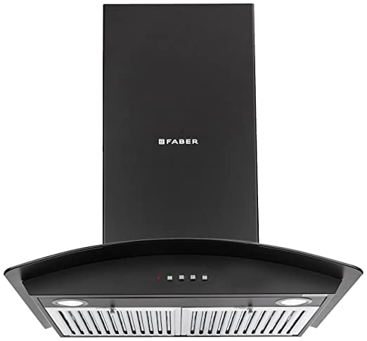 faber 60cm 1095 m3 hr chimney hood feel 3d 2 baffle filters black rh amazon in User Manual User Guide Template