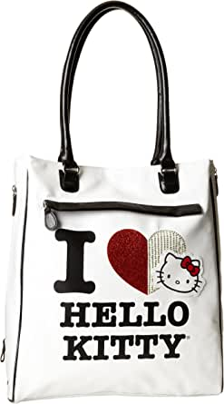 FAB Starpoint Big Girls' Hello I Love Kitty Tote