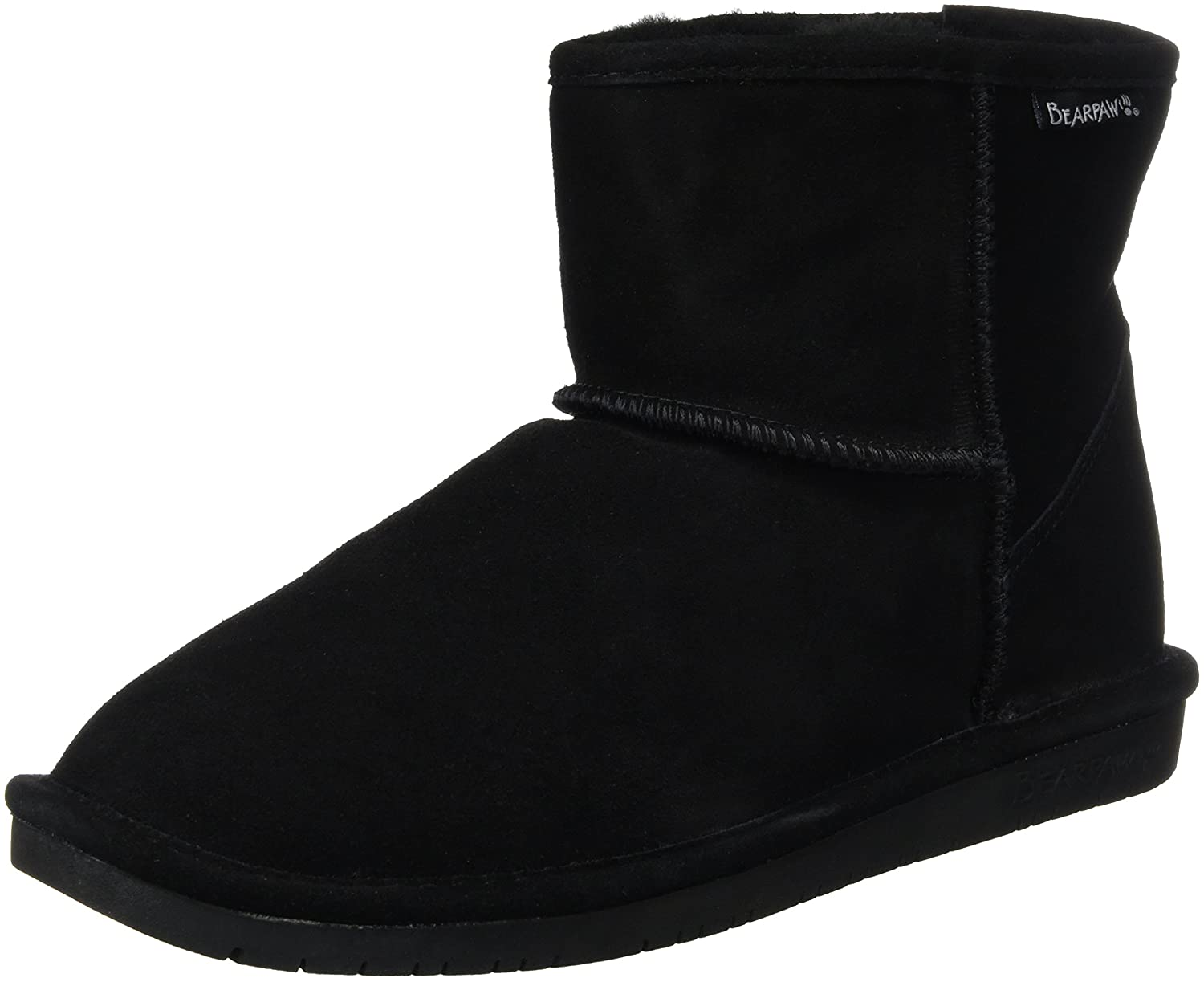 BEARPAW Demi Fashion Boot B00UCNFVUY 12 B(M) US|Black