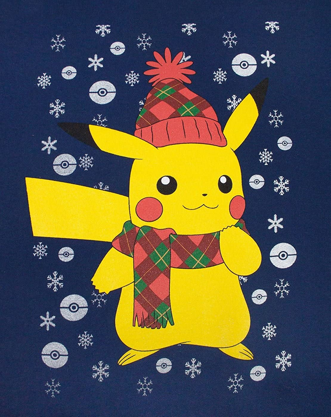 Vanilla Underground Pokemon Pikachu Mens Christmas Sweater