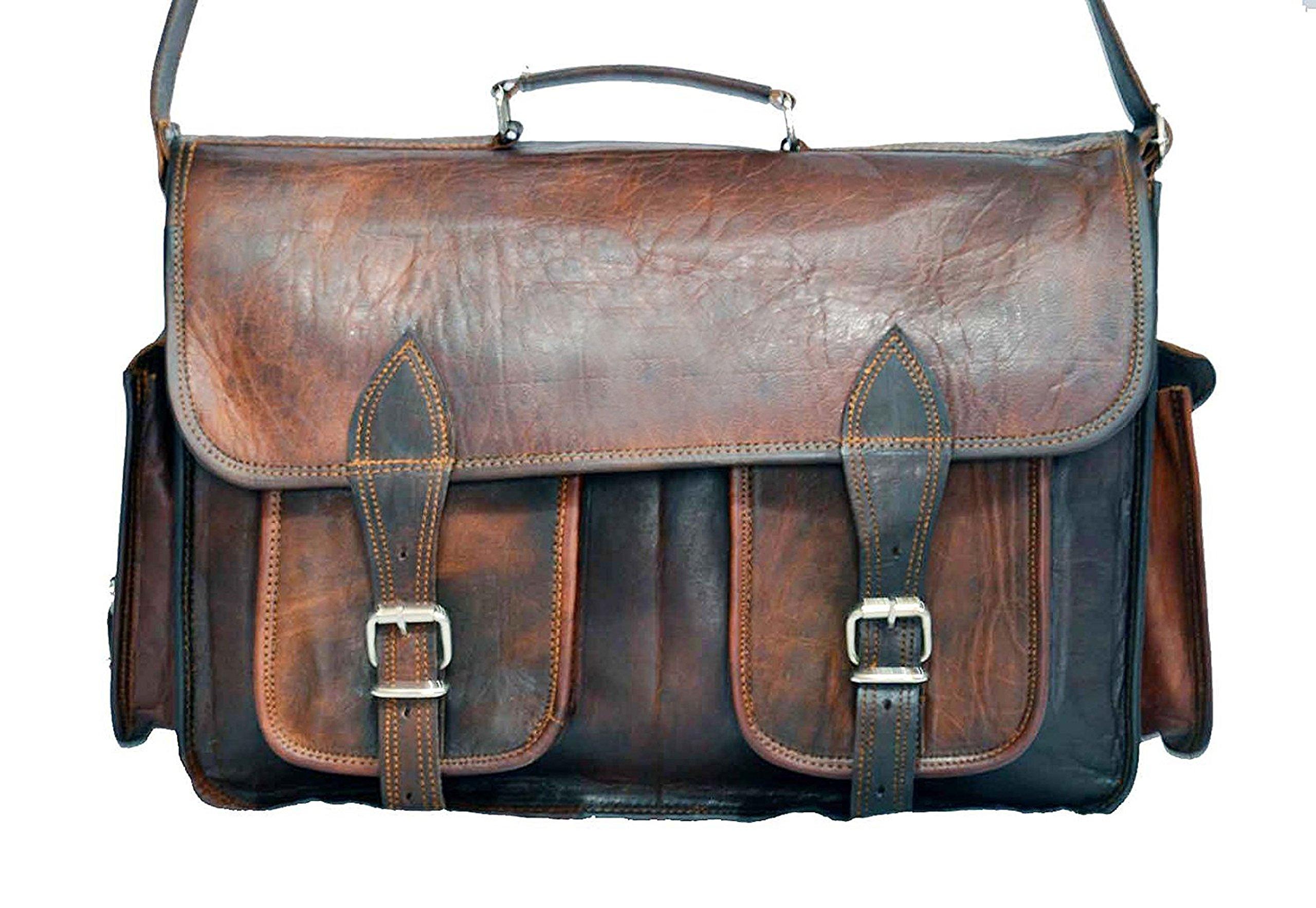 Leather Handmade Vintage Style Camera Bag/ Messenger/ Camera Bag Messenger Bag Laptop Bag