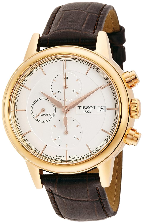 [TISSOT]ティソ 腕時計 Carson Automatic Chrono(カーソン オートマチック クロノ) T0854273601100 メンズ 【正規輸入品】 B00O3LURF0