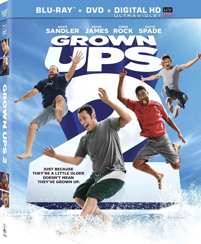 Amazon.com: Grown Ups 2 (Blu-ray + DVD + Digital HD): Adam Sandler ...