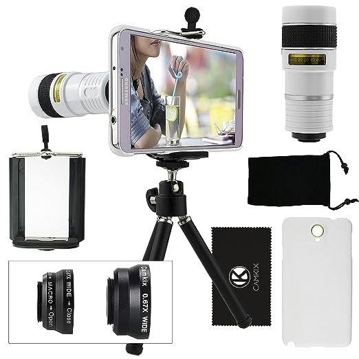 7 opinioni per Kit obiettivi per fotocamera per Samsung Galaxy Note 3 include Lente 8x per