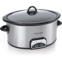 SCCPVP600-S Smart-Pot 6-Quart Slow Cooker, Brushed Stainless Steel