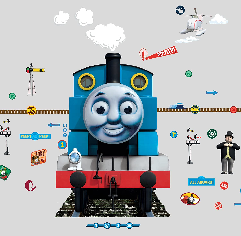 Thomas The Tank Engine Glow For Me Wall Sticker, Blue: Amazon.co.uk:  Kitchen U0026 Home Part 87
