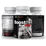 LFI Boost For Him — Get Bigger, Thicker, Stronger, Harder, and Fuller; Last Longer, Finish Stronger, Your Complete Male Enhancement*