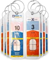 Cruise Luggage Tags Holders 8 Pc for Royal Caribbean & Celebrity Cruise Ships