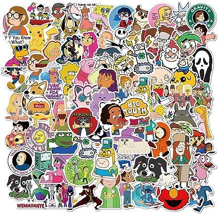 101pcs Cartoon Stickers