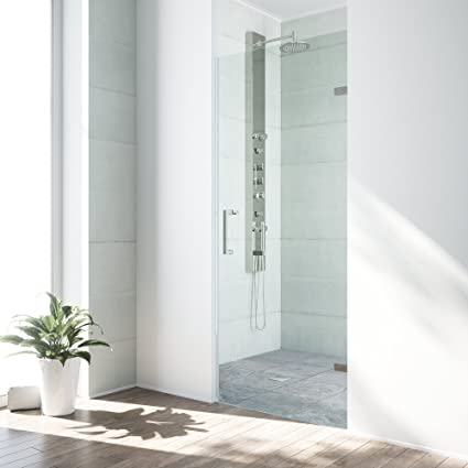 Vigo soho 24 to 245 in adjustable frameless shower door with 3125 vigo soho 24 to 245 in adjustable frameless shower door with 3125 planetlyrics Image collections