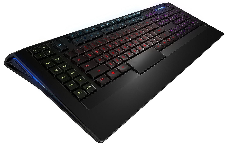 0950f3b4d22 Amazon.in: Buy SteelSeries Apex 350, Gaming Keyboard, 5-Zone RGB  Illumination, 22 Macro Keys, 2 USB Hub, (PC/Mac) - UK Layout Online at Low  Prices in India ...