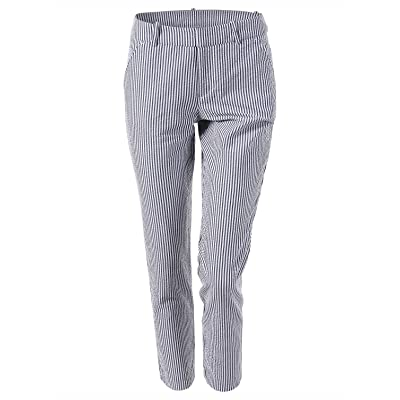 7 Encounter Flat Front Ankle Pants at Women's Clothing store