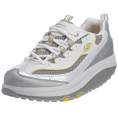 256a260fbf Skechers Shape Ups Jump Start Fitness Walking Shoe: Amazon.co.uk: Shoes &  Bags