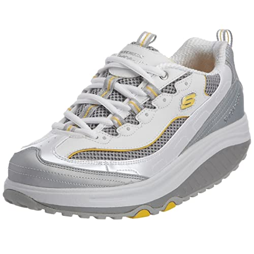 Skechers 11803 - Zapatillas de deporte para mujer, color blanco, talla 35.5: Amazon.es: Zapatos y complementos