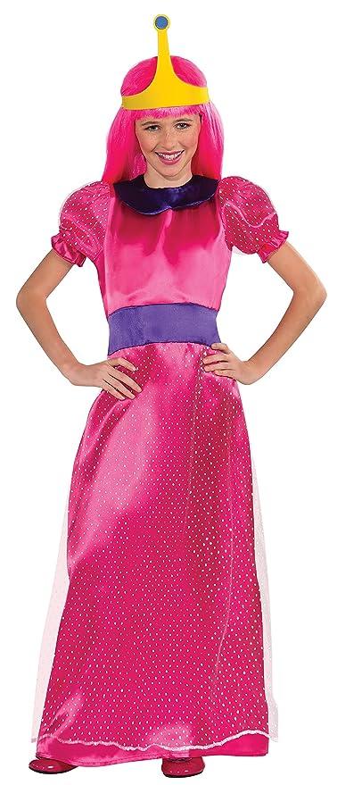 Amazoncom Adventure Time Childs Bubblegum Princess Costume Large