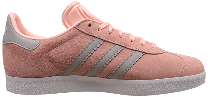 Adidas Originals Gazelle W hazcor mujeres, cgrani y ftwwht cuero