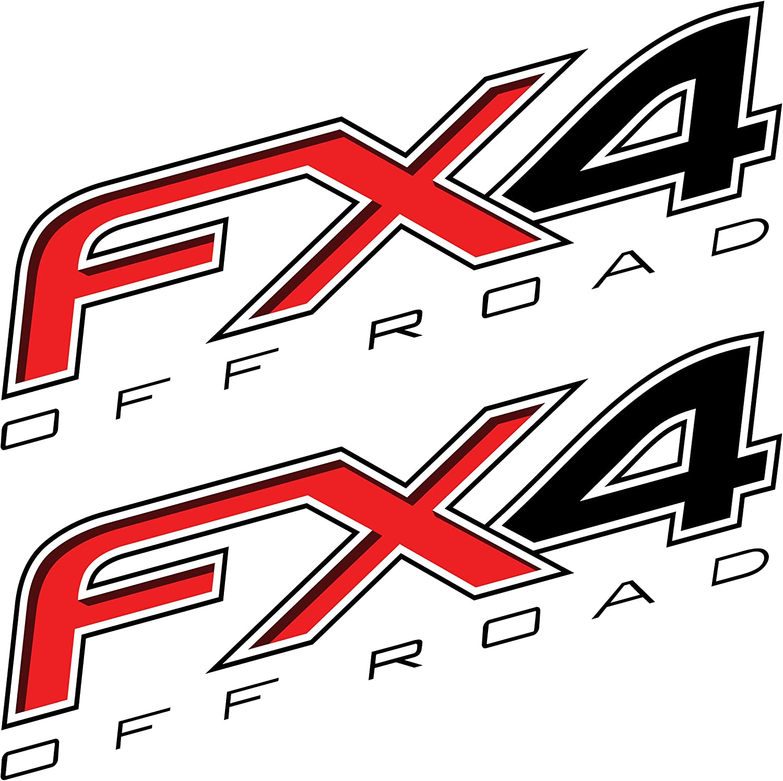 F Truck Super Duty Off Road Bed EZ CUT PRO 2X 2006 F250 FX4 Offroad Decals Stickers