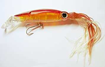 Hydro Squirt Translucent Squid Troll Lure For Marlin Tuna Big Game Fishing