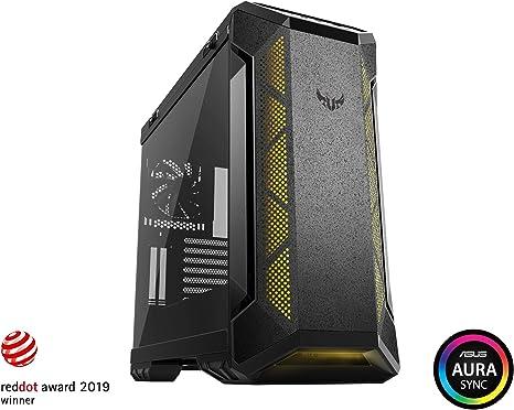 ASUS TUF Gaming GT501 - Caja de ordenador (Midi ATX Tower, PC, de plástico, ATX, EATX, Micro ATX, Mini-ITX, Juego) color negro: Amazon.es: Informática